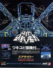 Air Diver Atomic Robo-Kid Mega Drive MD JAPANESE GAME MAGAZINE PROMO CLIPPING