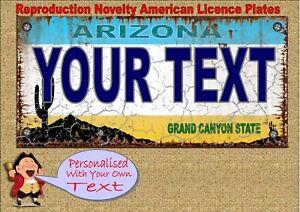 Placa de Licencia Signs 4 Fun AZ-Grand Canyon