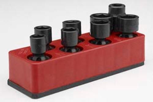 Mechanics Time Saver 881 3/8 Drive 8 Hole Swivel Impact Magnetic Socket Holder