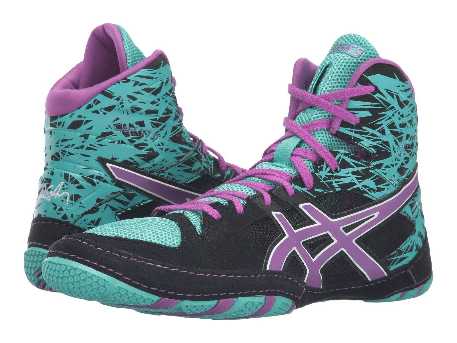 NEW Schuhe ASICS CAEL v7.0 WRESTLING Schuhe NEW - 10/ EURO 42.5 -KICKBOXING/MARTIAL ARTS/MMA 0a879e