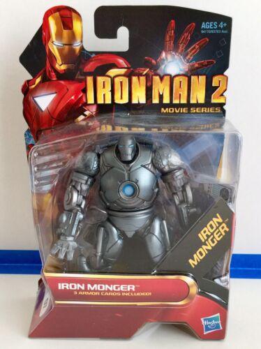 "MARVEL UNIVERSE IRON MAN 2 3.75/"" IRON MONGER FIGURE New In Box MINT"