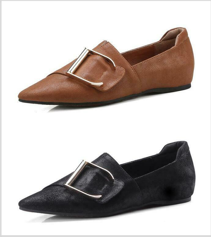 Womens Pointy Toe Metallic Pull On Mary Mary Mary Jane Vintage Comfort Grace Casuals shoes ba8a8d