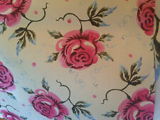 2 x Emma Bridgewater Rose & Bee Flat Gift Wrap Paper Sent Folded shabby chic new