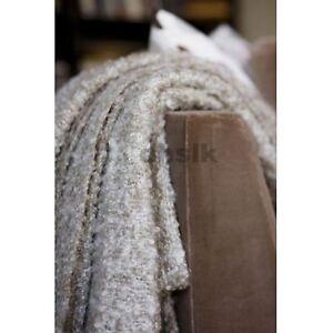 IKEA Stockholm Throw BLANKET Afghan MOHAIR Wool Acrylic BEIGE Textured Xmas Gift
