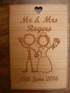 Image is loading Personalised-5th-Wedding-Anniversary-Wood-Card-Wooden- Anniversary-