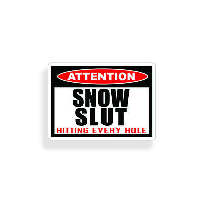 ATTENTION SNOWFLAKES 2020 Vinyl Decal Window Sticker Trump Humor Made in USA