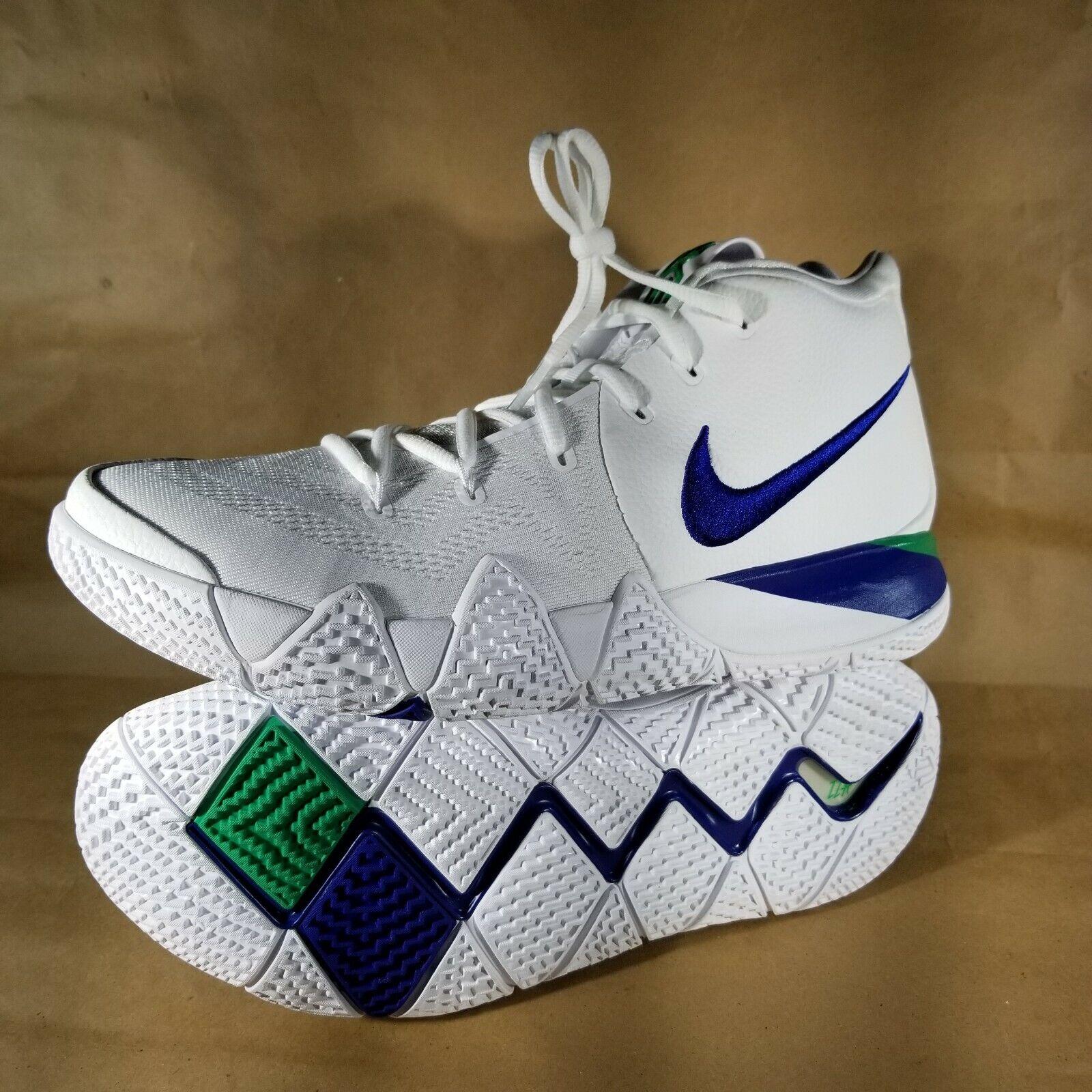 Nike Kyrie 4 Seahawks Mens 943806 -103 bianca Royal  blu Basketball Dimensione 11  acquista online