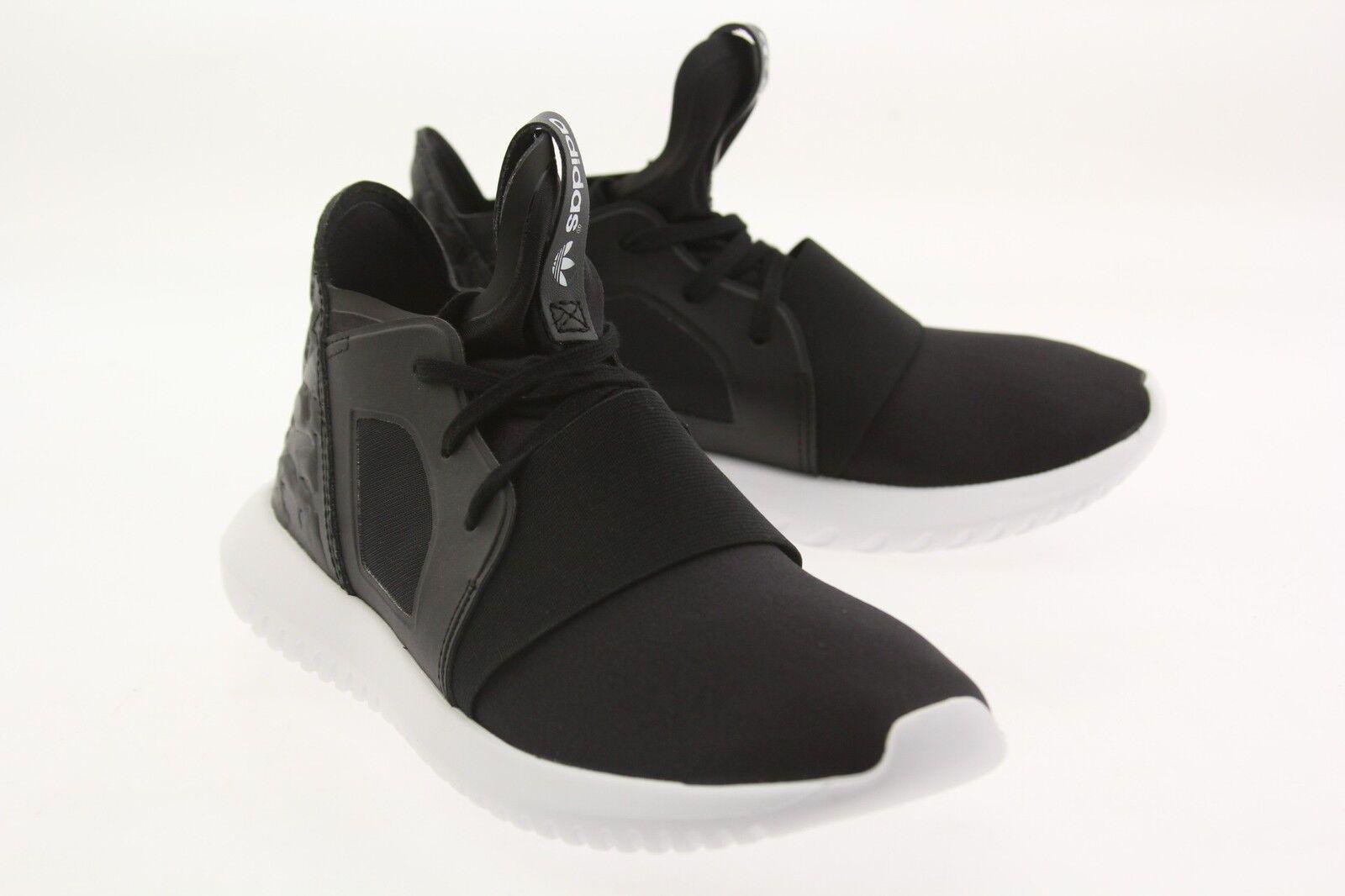 Adidas Women Tubular Defiant black core black  core white white white S75257 259092