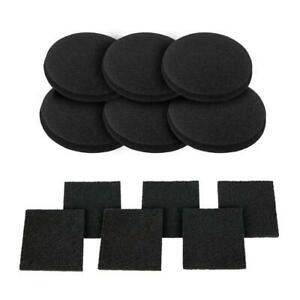 Universal Activated Carbon Foam Sponge Air Impregnated Sheet Filter Pad Kitchen