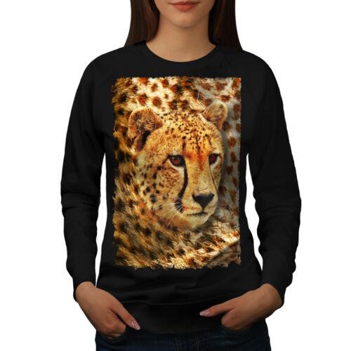 Wellcoda Wild Natura Animal Womens Felpa intenso Casual Pullover Maglione