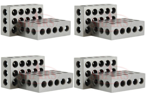 """8 1-2-3 123 BLOCK Set Precision 0.0001/"""" Mat OUT OF STOCK 90 DAYS SHARS 4 Pair"""