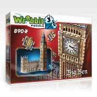 Wrebbit Big Ben and Parliament 3D Puzzle 890 Piece - W3D2002 Toys