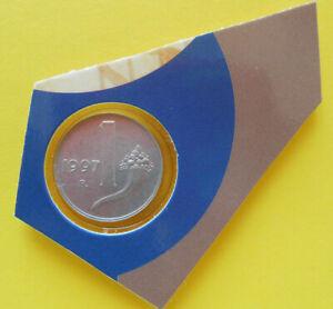 1 Lira 1997 FDC Cornucopia moneta non comune