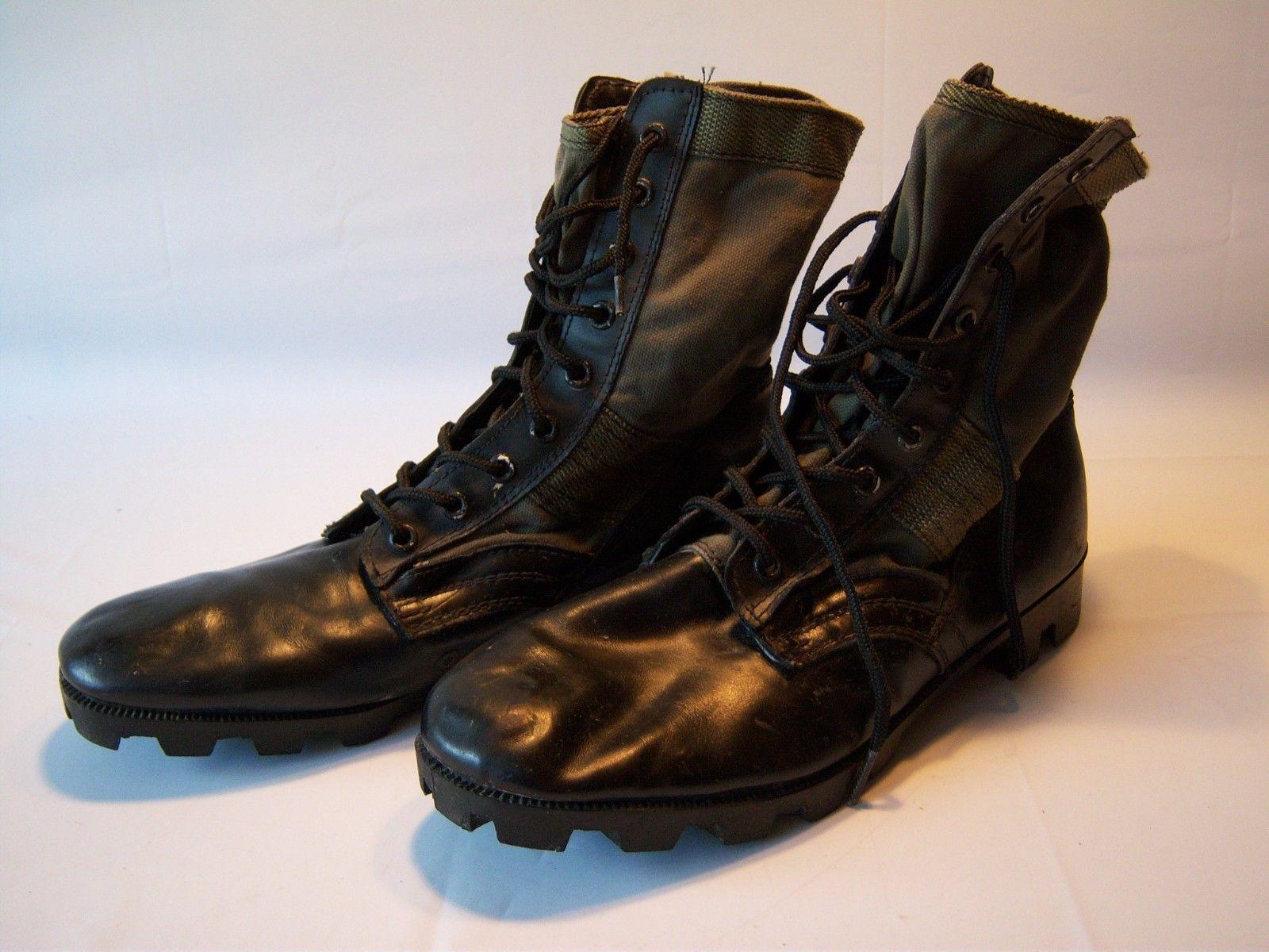 sconti e altro Vintage Leather Military Military Military Combat stivali Uomo Dimensione 13  per il tuo stile di gioco ai prezzi più bassi