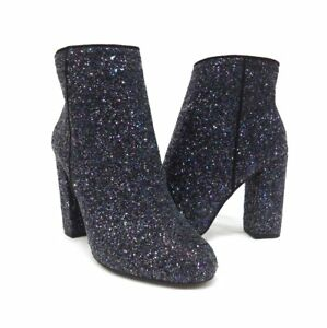 d49014a7b598 New  75 Call It Spring Talcahuano Black Sparkle High Heel Booties ...