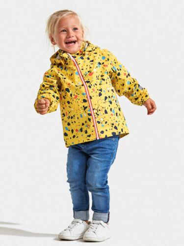 Didriksons Mädchen Funktionsjacke Adventurejacke DROPPEN PR KIDS JKT gelb
