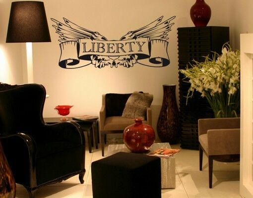 Liberty Sign - highest quality wall decal stickers