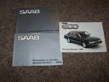 1988 Saab 900 Operator User Guide Owner Owner's Manual  S Turbo Convertible 2.0L