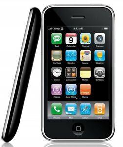 Détails sur Apple IPhone 3Gs 8 Go Débloqué-Noir (MC637LL/A)- afficher le titre d'origine