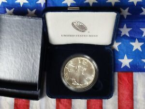 1991 $1 American Silver Eagles BU In US Mint Gift Box