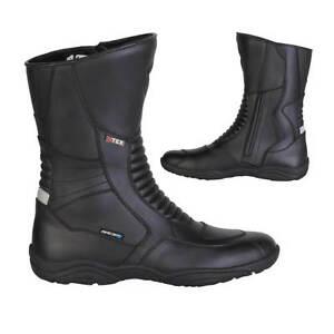 Spada-JOURNEY-Waterproof-Motorcycle-Boots-Black-UK-13