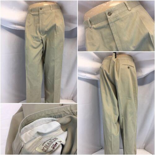 38x31 marrone 100 Charleston K8 Usa 63 Euc piega cotone Khakis Ygi 7q5qtxB