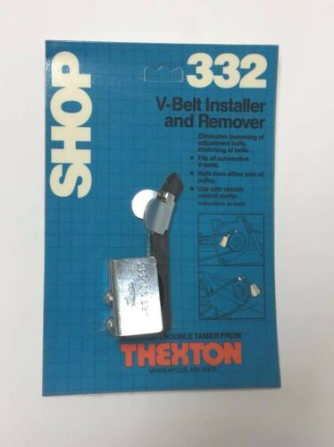 Thexton Manufacturing Co 332 V-Belt Remover and Installer Made In USA No