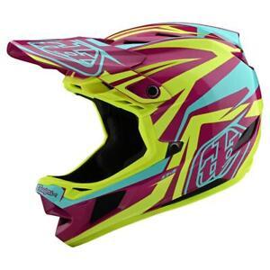Troy Lee Designs D4 Composite - Slash Purple / Yellow Xl