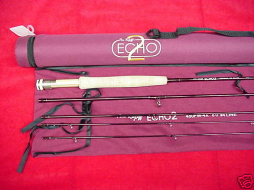 Echo II Fly Rod  8ft Line GREAT NEW  first-class quality