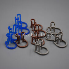 Disposable Dental Clinic Lab Isolator Cotton Roll Holder Clip Orthodontic 3color