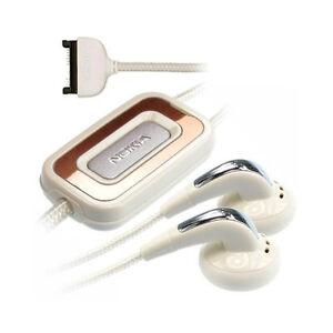Kit-Pieton-Mains-libres-Nokia-HS-31-Blanc-Nylon-Headphone-Handsfree