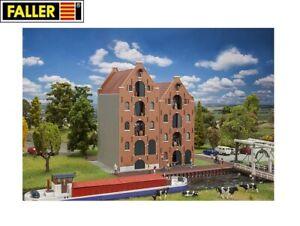 Faller-H0-191731-2-Norddeutsche-Speicherhaeuser-NEU-OVP