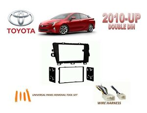 2010 up toyota prius dash install kit for car stereo with. Black Bedroom Furniture Sets. Home Design Ideas