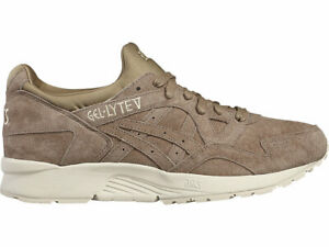 Asics-Men-039-s-Gel-Lyte-5-Running-Shoes-NEW-AUTHENTIC-Taupe-Grey-H736L-1212