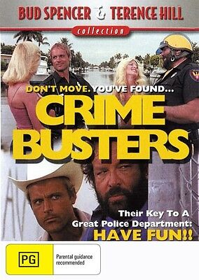 CRIME BUSTERS - BUD SPENCER & TERENCE HILL - NEW DVD
