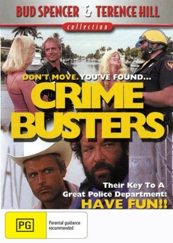 1 of 1 - CRIME BUSTERS - BUD SPENCER & TERENCE HILL - NEW DVD