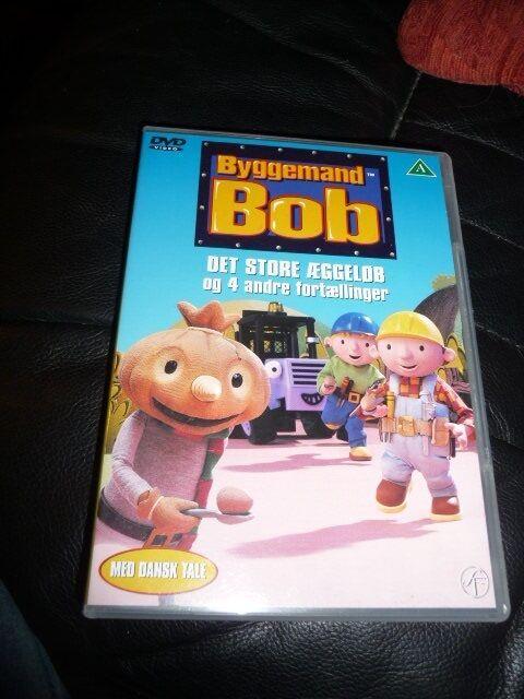 Byggemand Bob det store æggeløb, DVD, tegnefilm