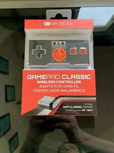My Arcade GamePad Classic Wireless Controller for NES Classic Edition wii  NIP