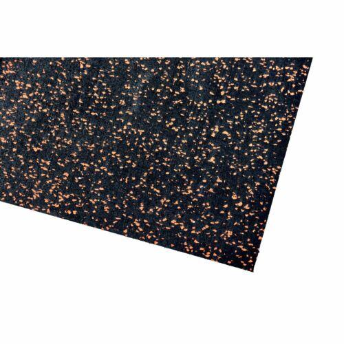 Bodenschutzmatte Fitnessmatte Unterlage Fitnessgeräte 60x125x0,4 cm orange
