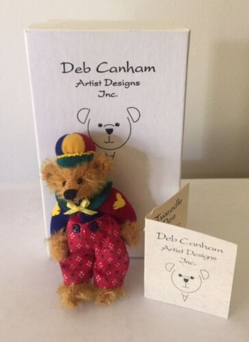 """LIMITED EDITION-MOHAIR DEB CANHAM  /""""TWEEDLE DEE/"""" FROM ALICE IN WONDERLAND 3/"""""""