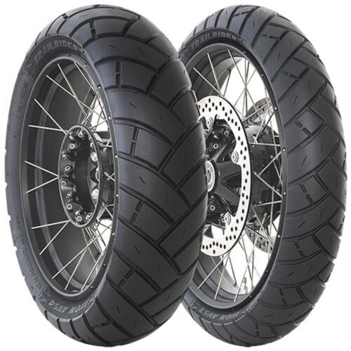 V Transalp 2006 TrailRider Tyre Pair 90//90-21 120//90-17 Honda XL 650