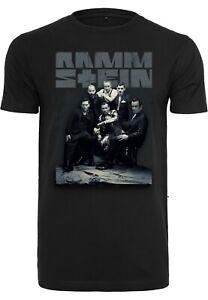 Rammstein Band Foto T-Shirt S-XXL Neue Deutsche Härte Rock Metal Neues Album