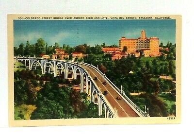Pasadena California Colorado St Bridge Over Arroyo Seco ...