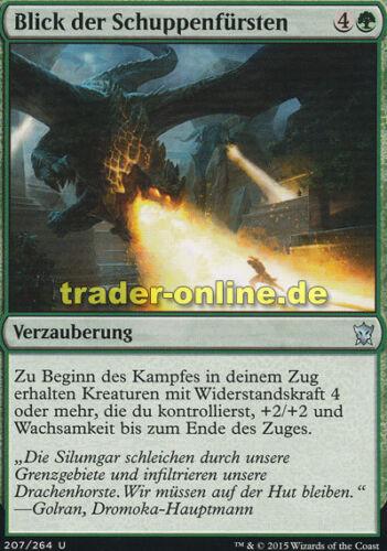2x Blick der Schuppenfürsten Sight of the Scalelords Dragons of Tarkir Magic