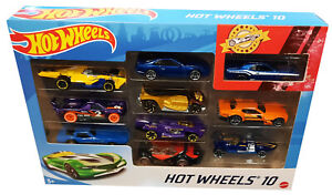 Hot Wheels 10 Die Cast Cars New