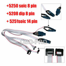 POMONA 5250 soic 8 pin + 5208 dip 8 pin+ 5251soic 14 pin Eeprom Test Clip Parts
