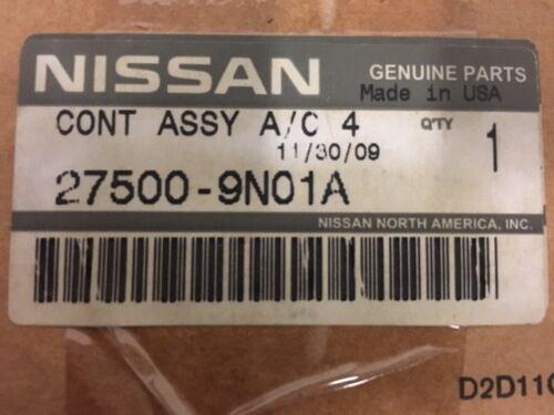 NISSAN Maxima 2009-2014 Temp Control 275009N01A 27500-9N01A