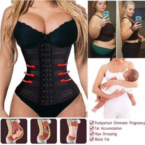 Women/'s Postpartum C-Section After Birth Waist Trainer Belt Corset Body Shaper