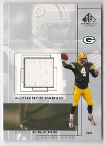 2001-SP-Game-Used-Edition-Authentic-Fabric-BF-Brett-Favre-Jersey