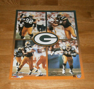 1996-Green-Bay-Packers-D-Line-16x20-poster-Reggie-White-Sean-Jones-Gilbert-Brown